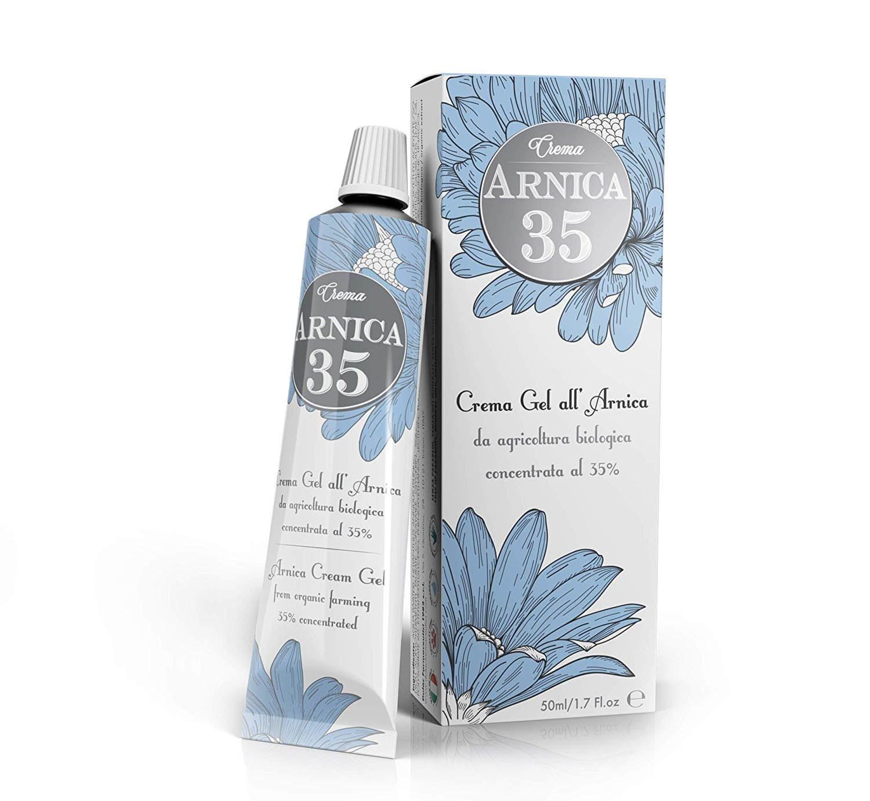Bottle of arnica cream