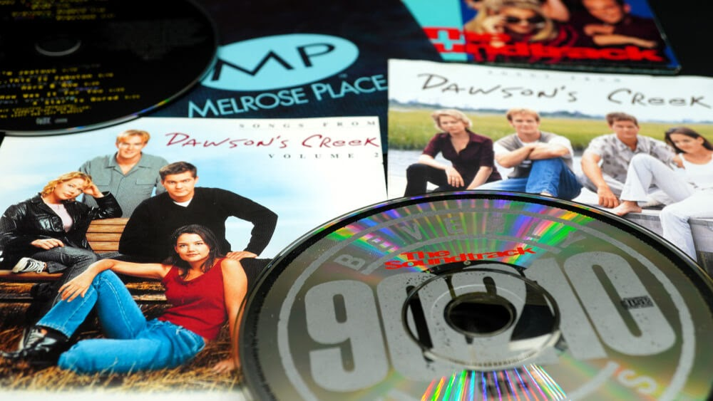 DVD's and covers from 90's teen shows