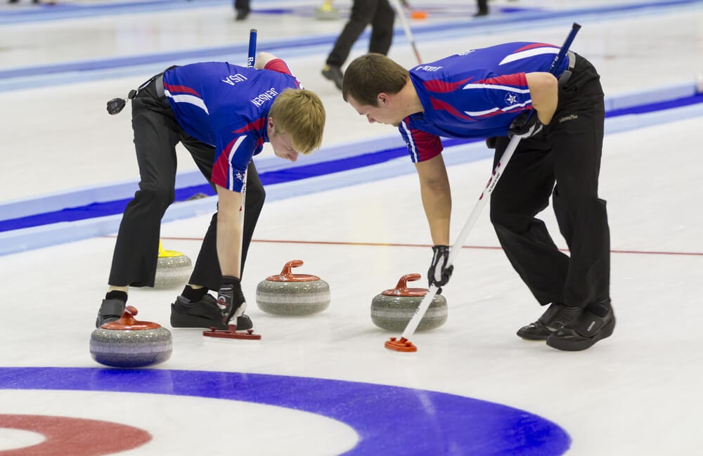 Curling Players