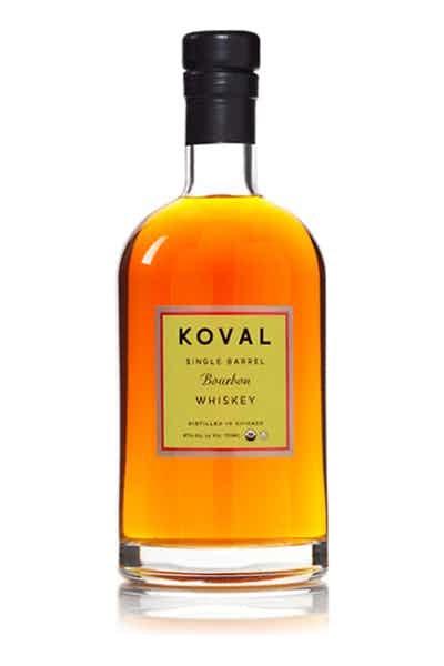 Bottle of Koval Burbon