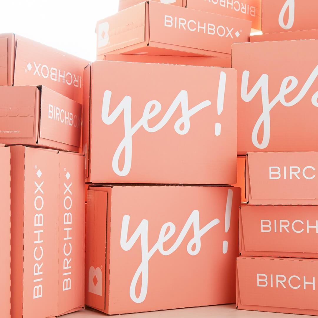 Peach BirchBox subscription boxes