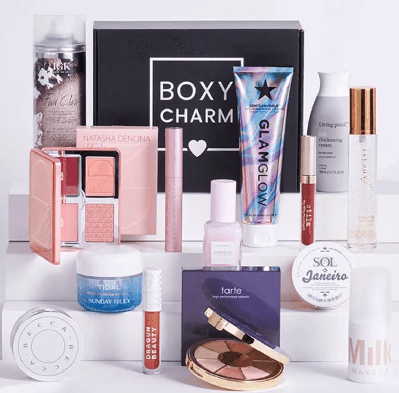 Example of Boxy Charm subscription box