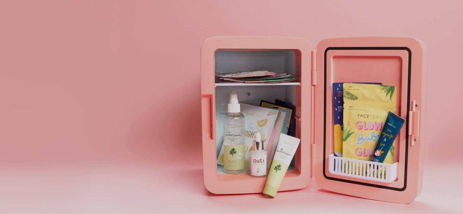 Example of Facetory subscription box