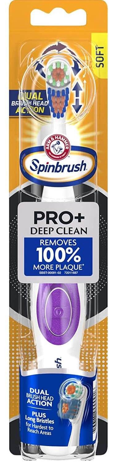 Arm and Hammer Spinbrush PRO+ Deep Clean