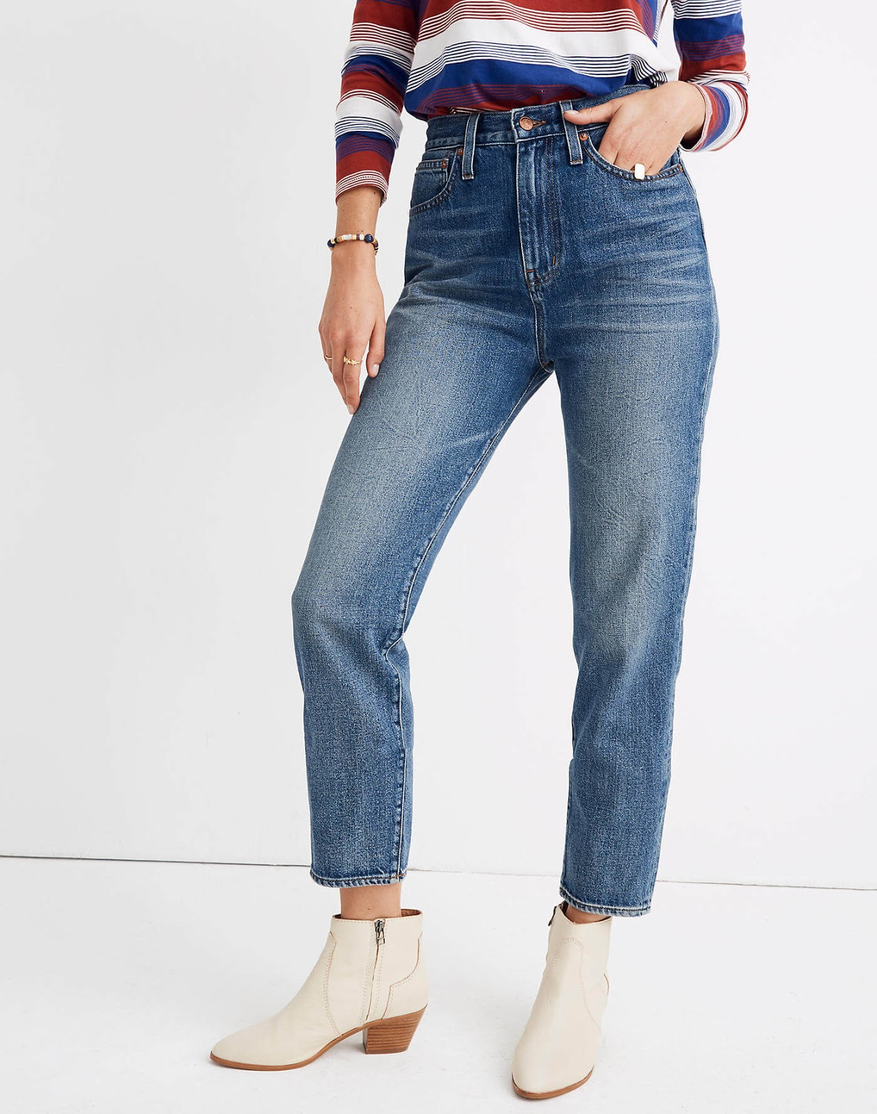 Madewell The Momjean in Downey Wash