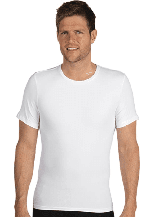 Spanx Cotton Compression Crew Neck