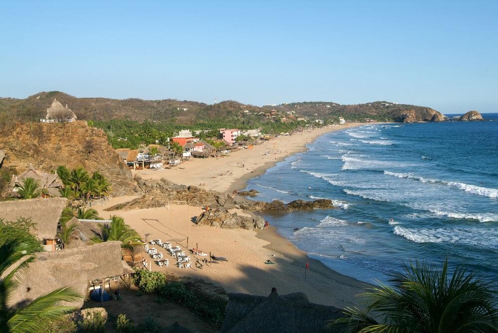 Playa Zipolite, Oaxaca, Mexico