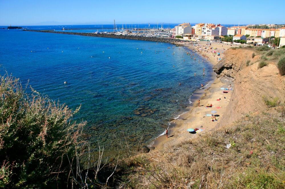Cap d'Agde Beach, France