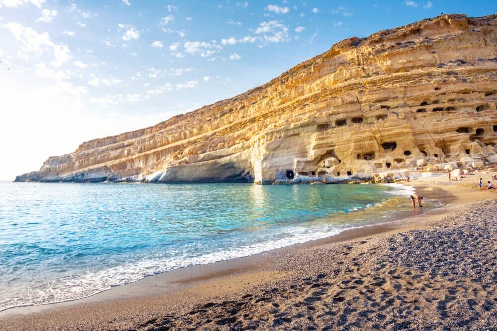 Red Beach, Crete, Greece