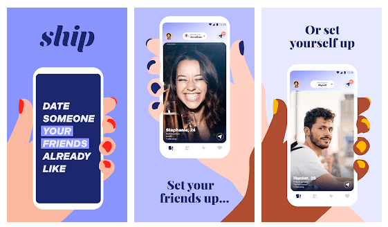 Ship app advertisement