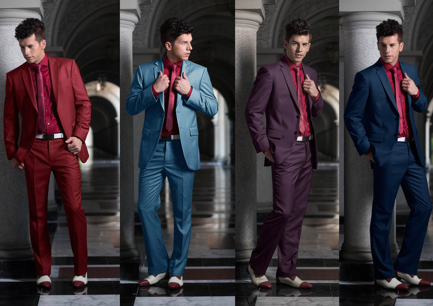 iTailor suits in various colors