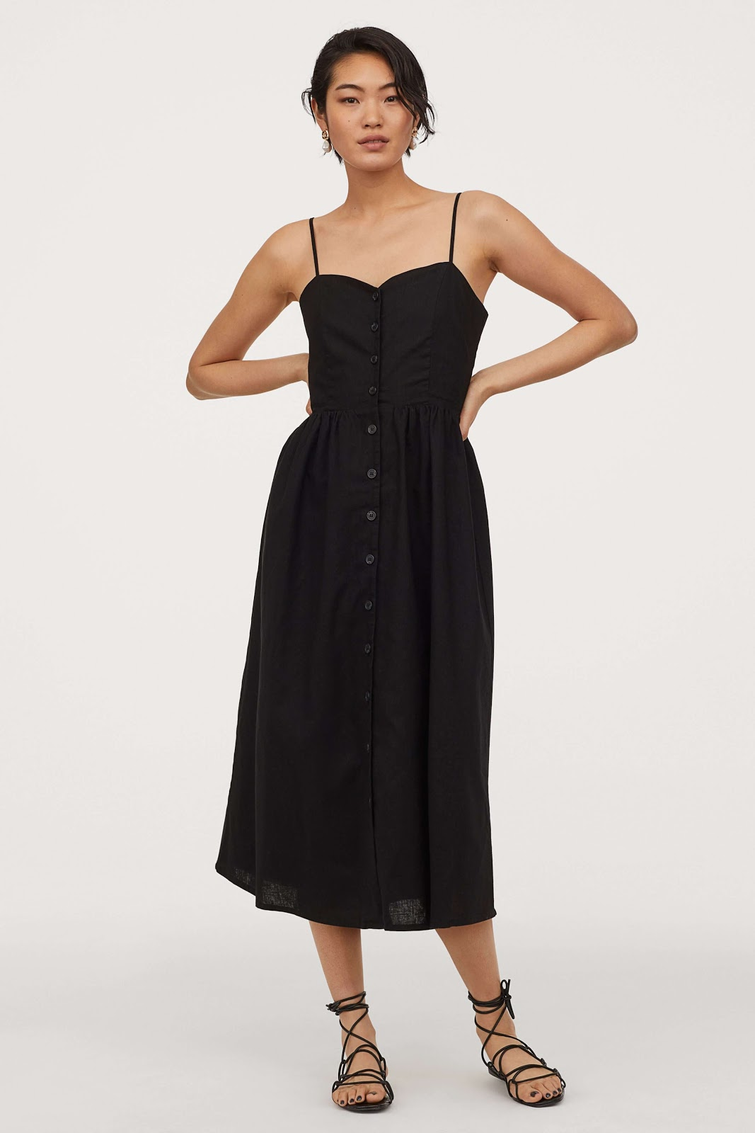 H&M Conscious Black Dress