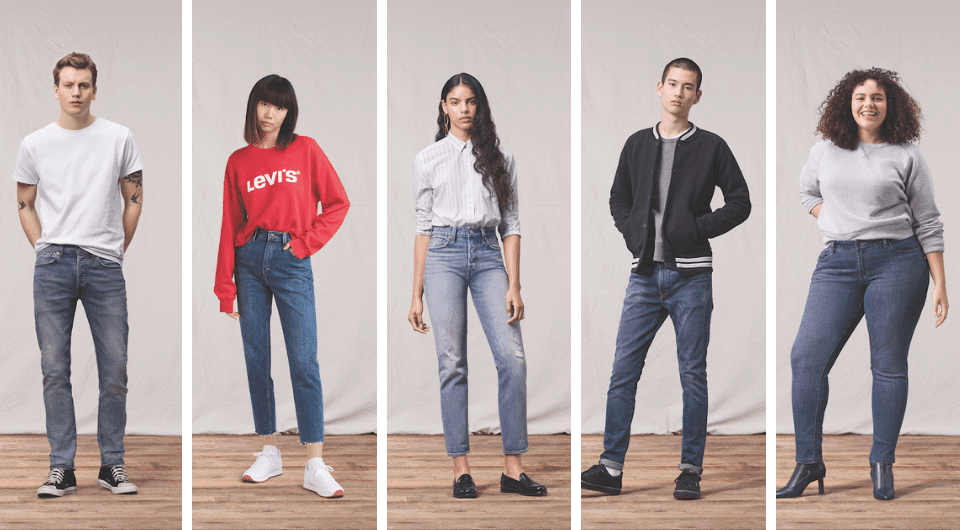 Levi's waterless collection