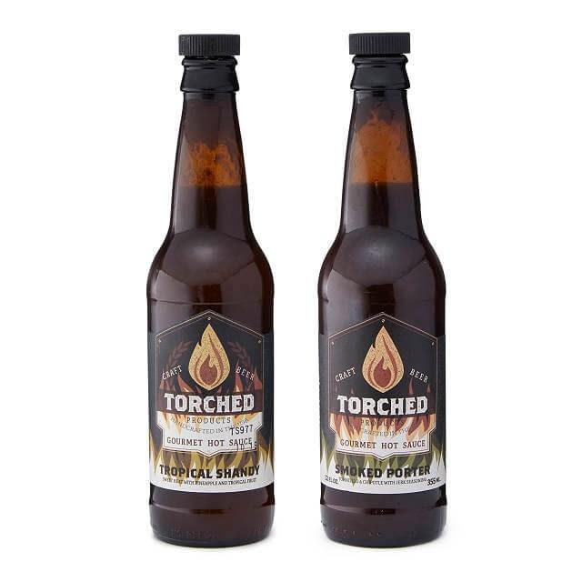 beer hot sauce duo
