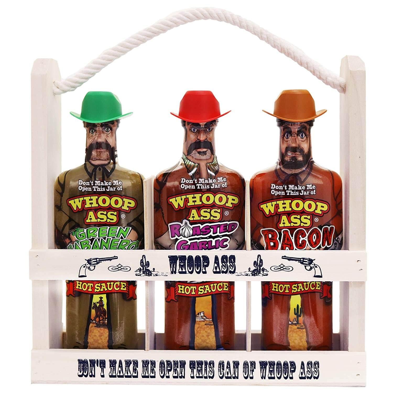 Whoop Ass Hot Sauce Gift Set