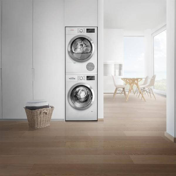 Bosch High-Efficiency Front Load Compact Washer, ENERGY STAR & Bosch Electric Condensation Compact Dryer, ENERGY STAR