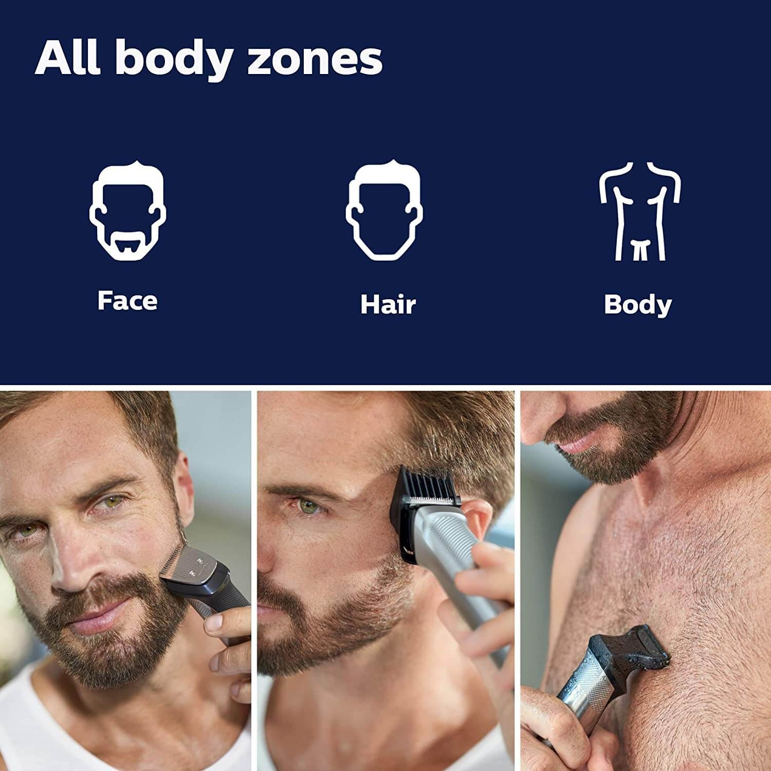 Philips Norelco Multigroom All-in-One Trimmer Series 9000
