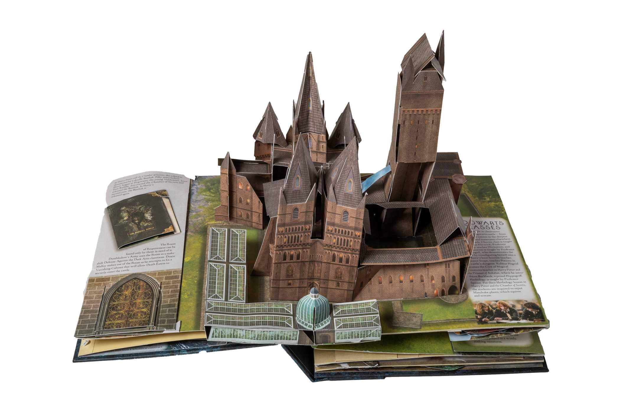 Harry Potter: A Pop-Up Guide to Hogwarts Book