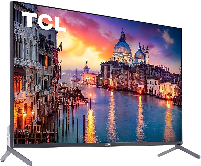 "TCL 65"" Class 6-Series 4K UHD QLED Dolby Vision HDR Roku Smart TV"