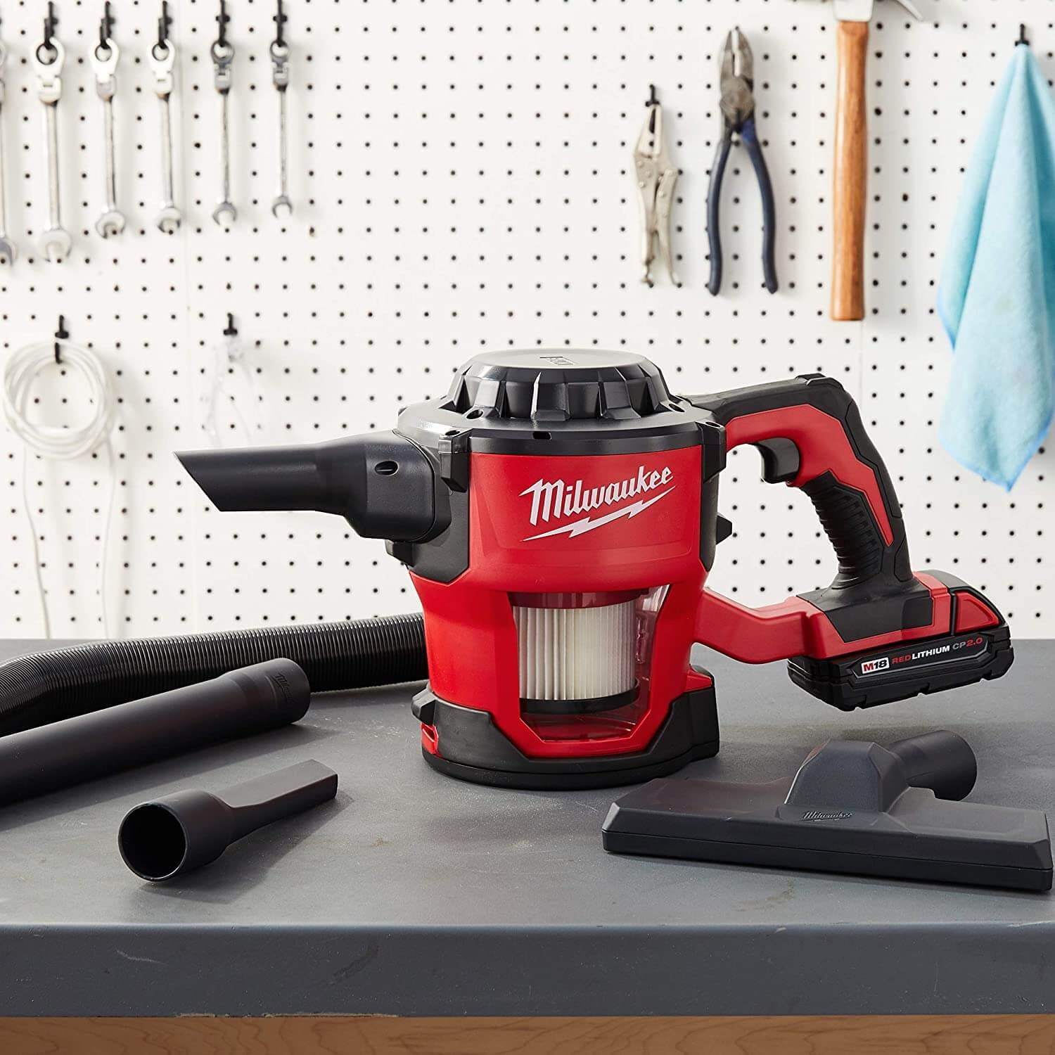 Milwaukee 0882-20 M18 Lithium-Ion Cordless Hand Held Vacuum