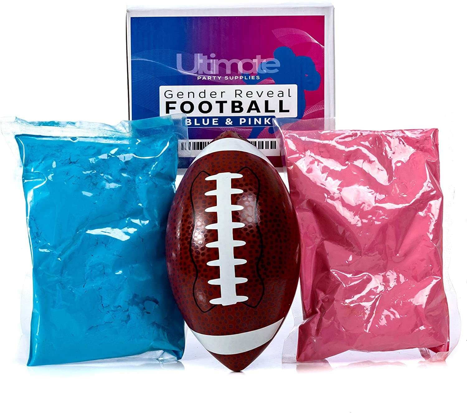 Powdered filled football