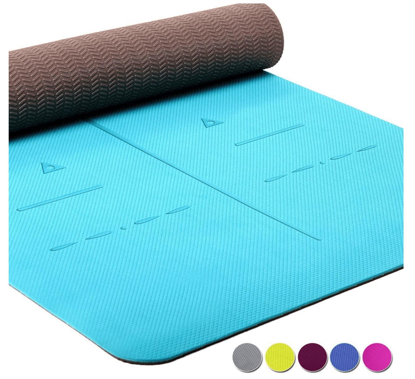 Heathyoga Eco-Friendly Non Slip Yoga Mat
