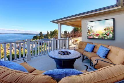 The Peerless Ultraview UHD Outdoor TV