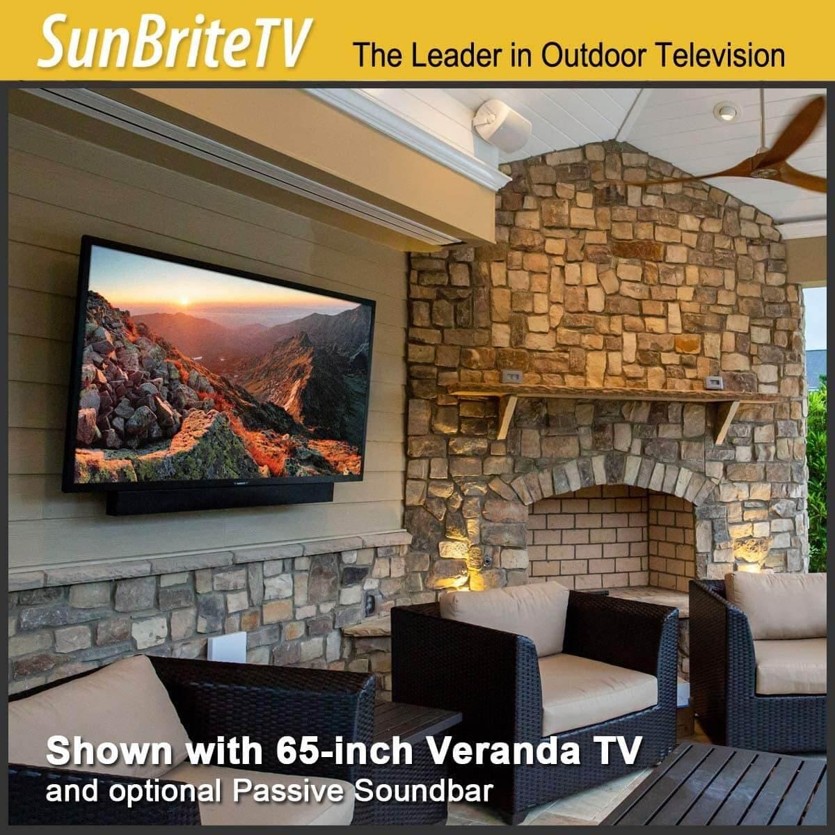 SunBriteTV Weatherproof Outdoor 55-Inch Veranda Series 4K UHD HDR LED Television - SB-V-55-4KHDR-BL