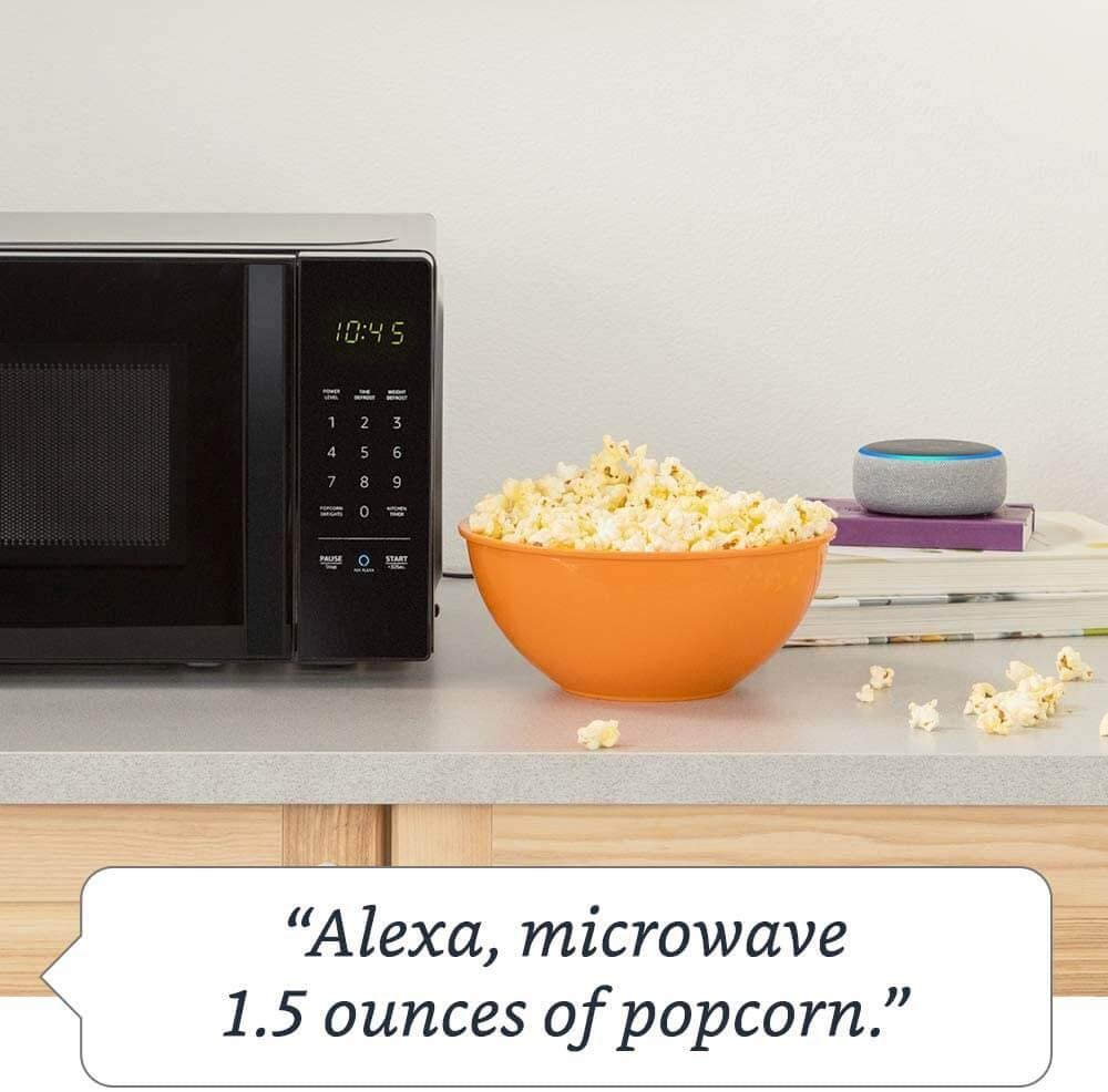 AmazonBasics Works With Alexa S9N29R Microwave Oven