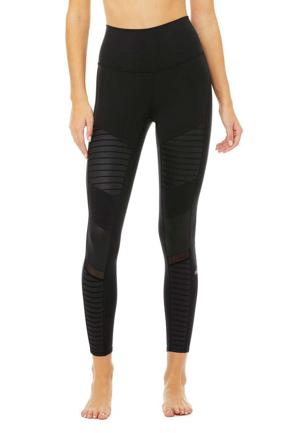 Alo Yoga - â…ž High Waist Moto Legging