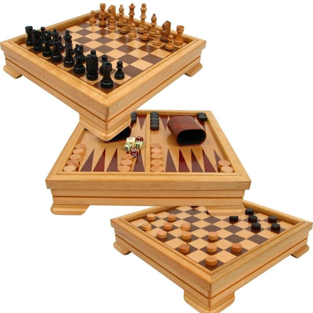 Hey! Play! 7-in-1 Game Set