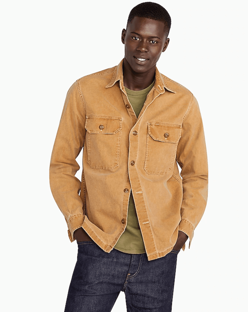 J.Crew Wallace & Barnes Shirt-Jacket