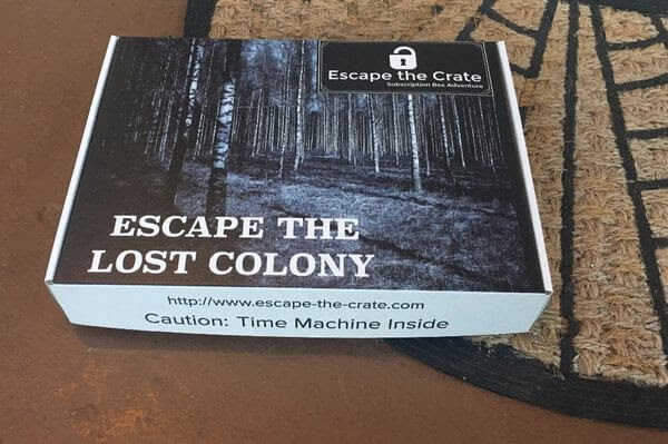 Escape the Crate Box: Escape the Lost Colony