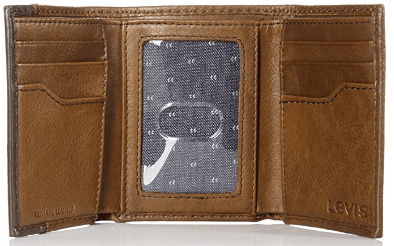 Levi's Trifold Leather Wallet, $22