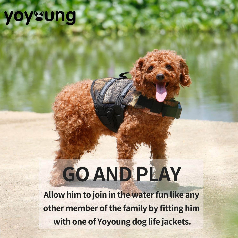 Yoyoung Camo Pet Life Preserver