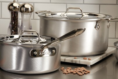 All-Clad Master Chef 9 Piece Cookware Set