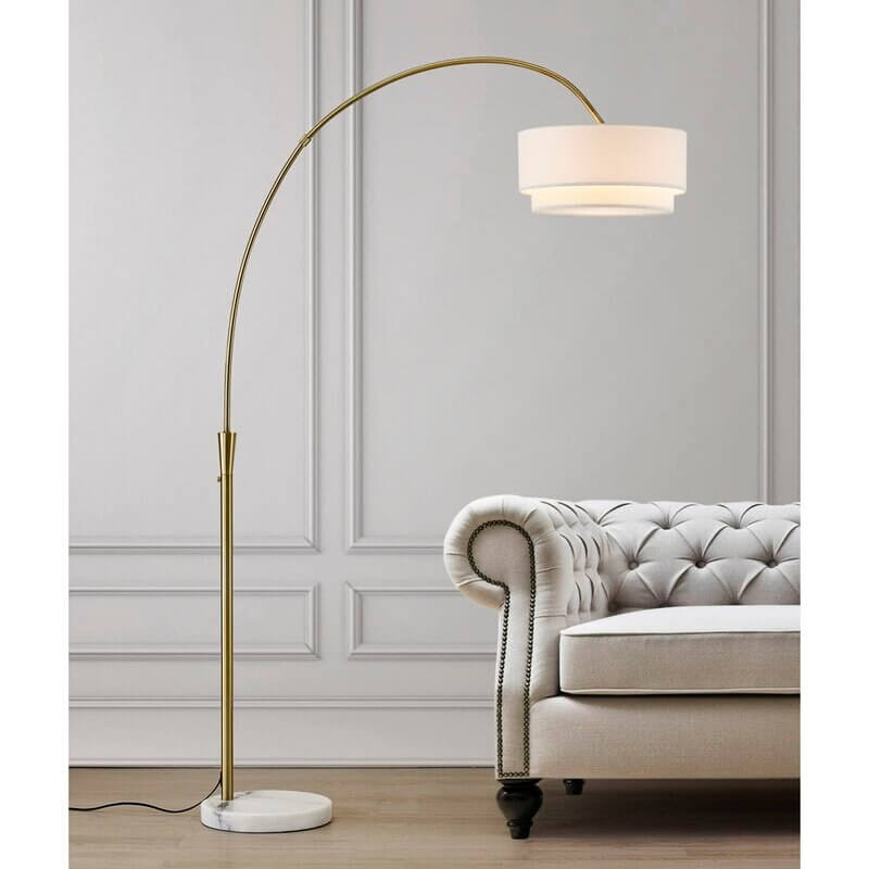 "Dina 81"" Arched Floor Lamp"