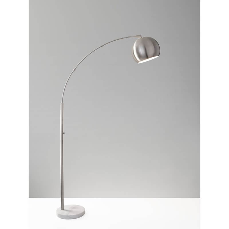 "Dacia 78"" Arched Floor Lamp"