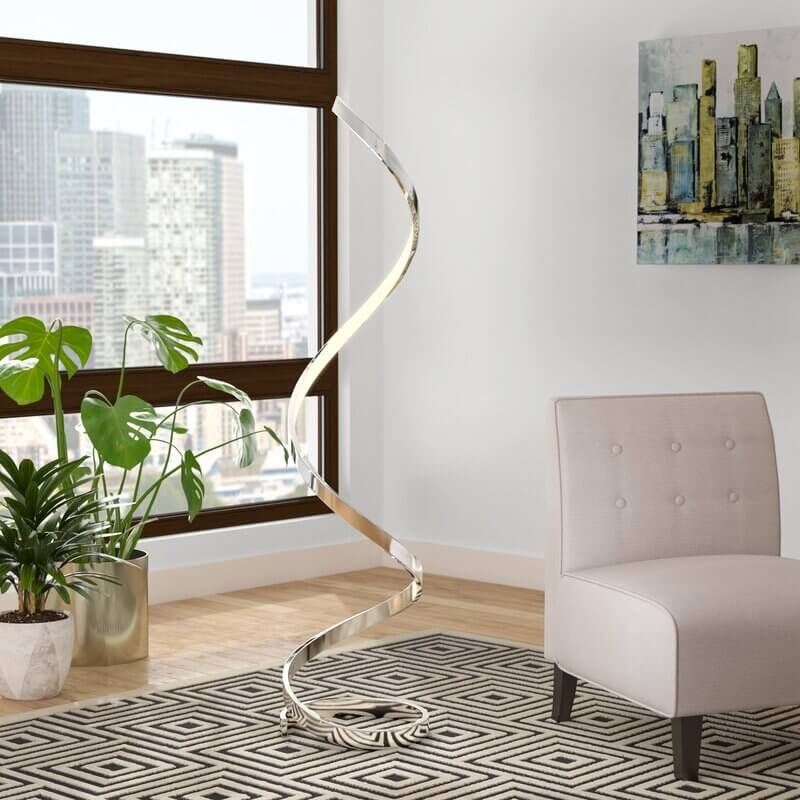 "Taquan 63"" LED Novelty Floor Lamp"