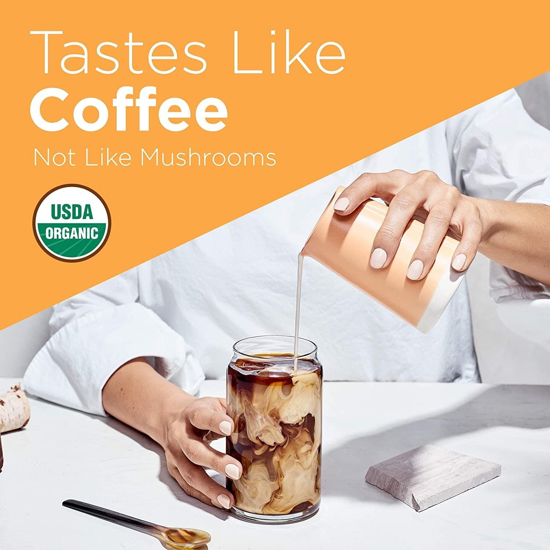 Mushroom coffee Ad - Four Sigmatic