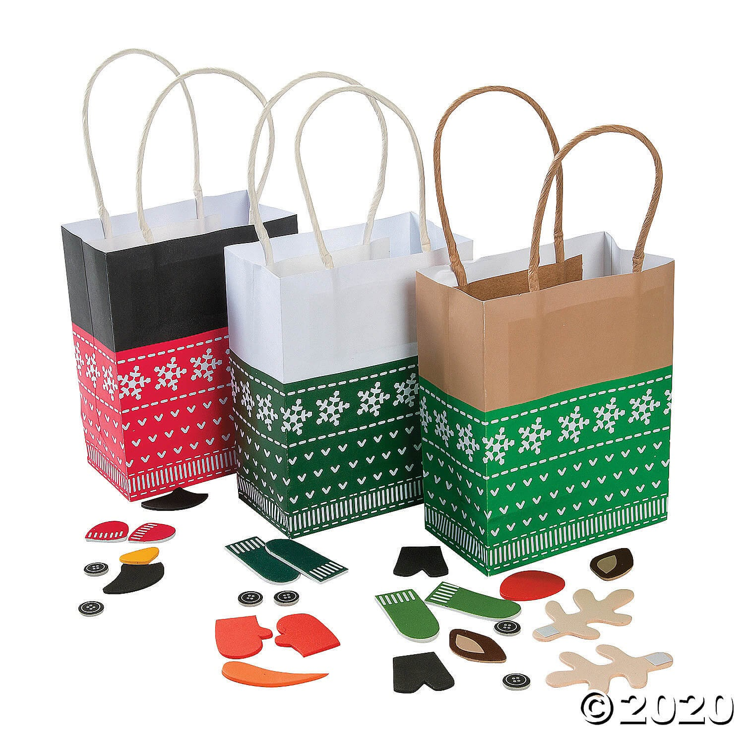 Oriental Trading Company holiday bags
