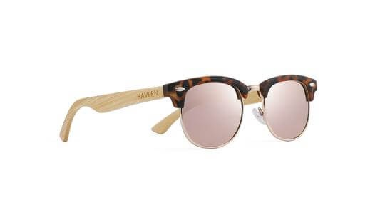 Havern Bailee Rose Wooden Sunglasses