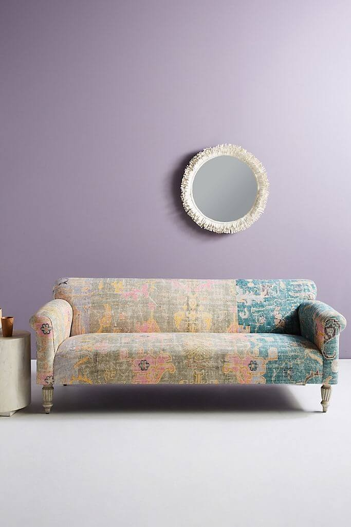 Rug-Printed Sofa