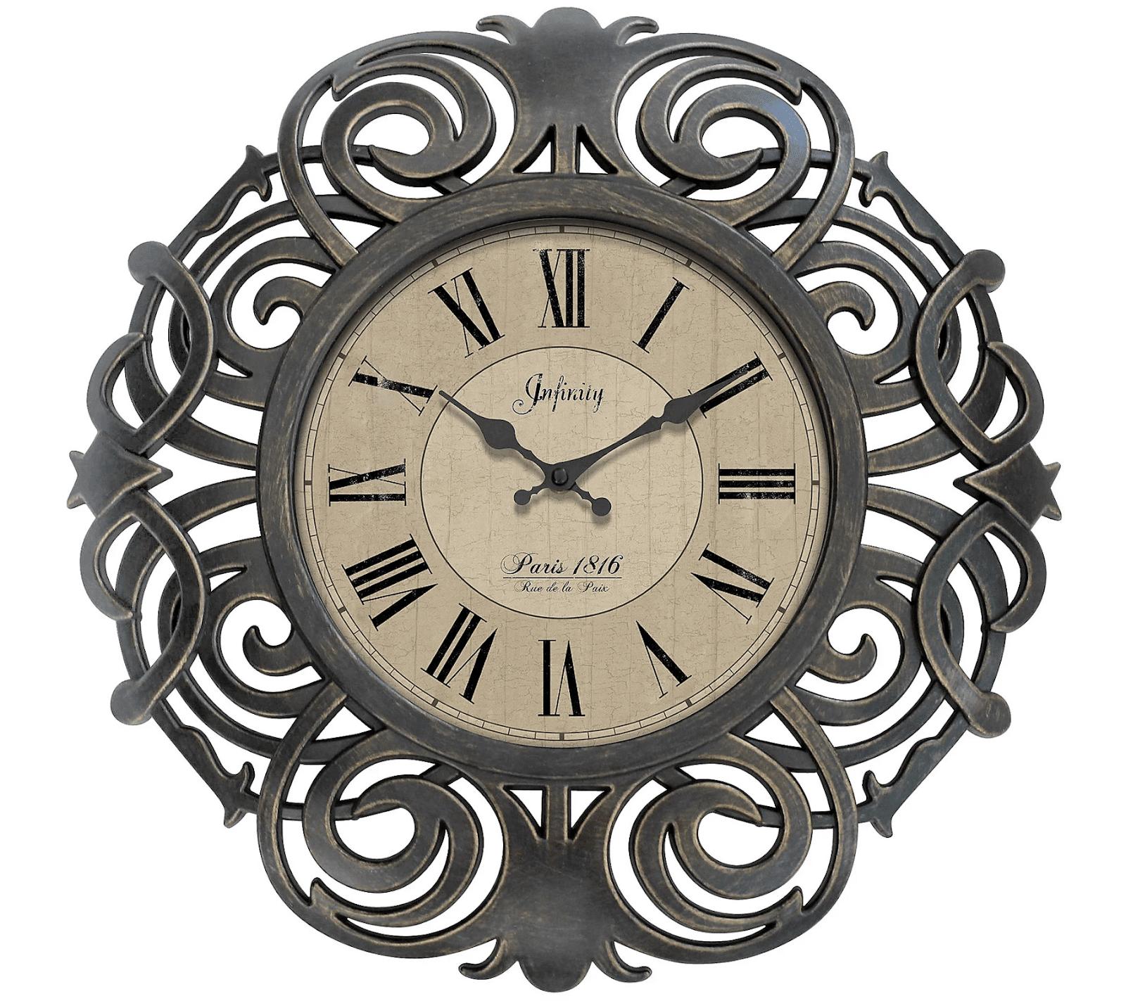 Paris Decorative Wall Clock