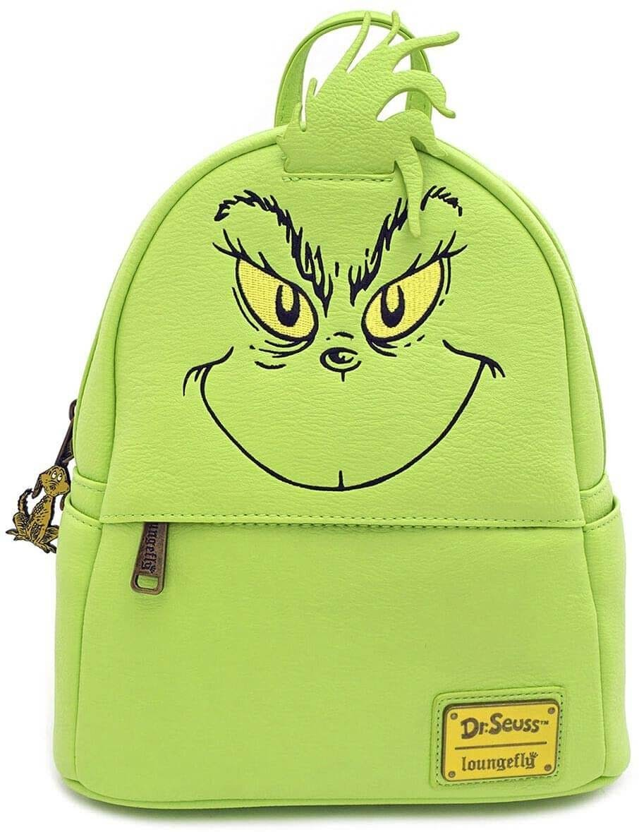 Grinch leather mini backpack