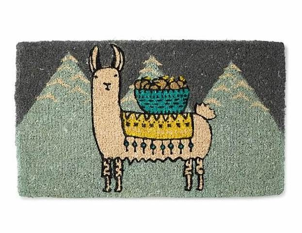 Larry the Llama Doormat