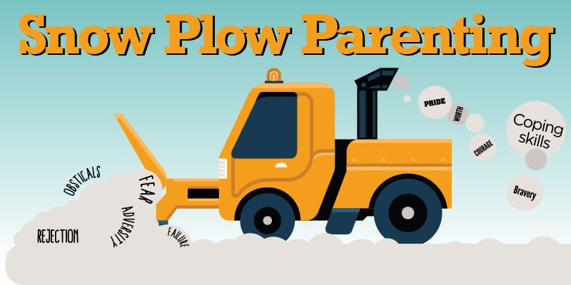 Snow Plow Parenting Image