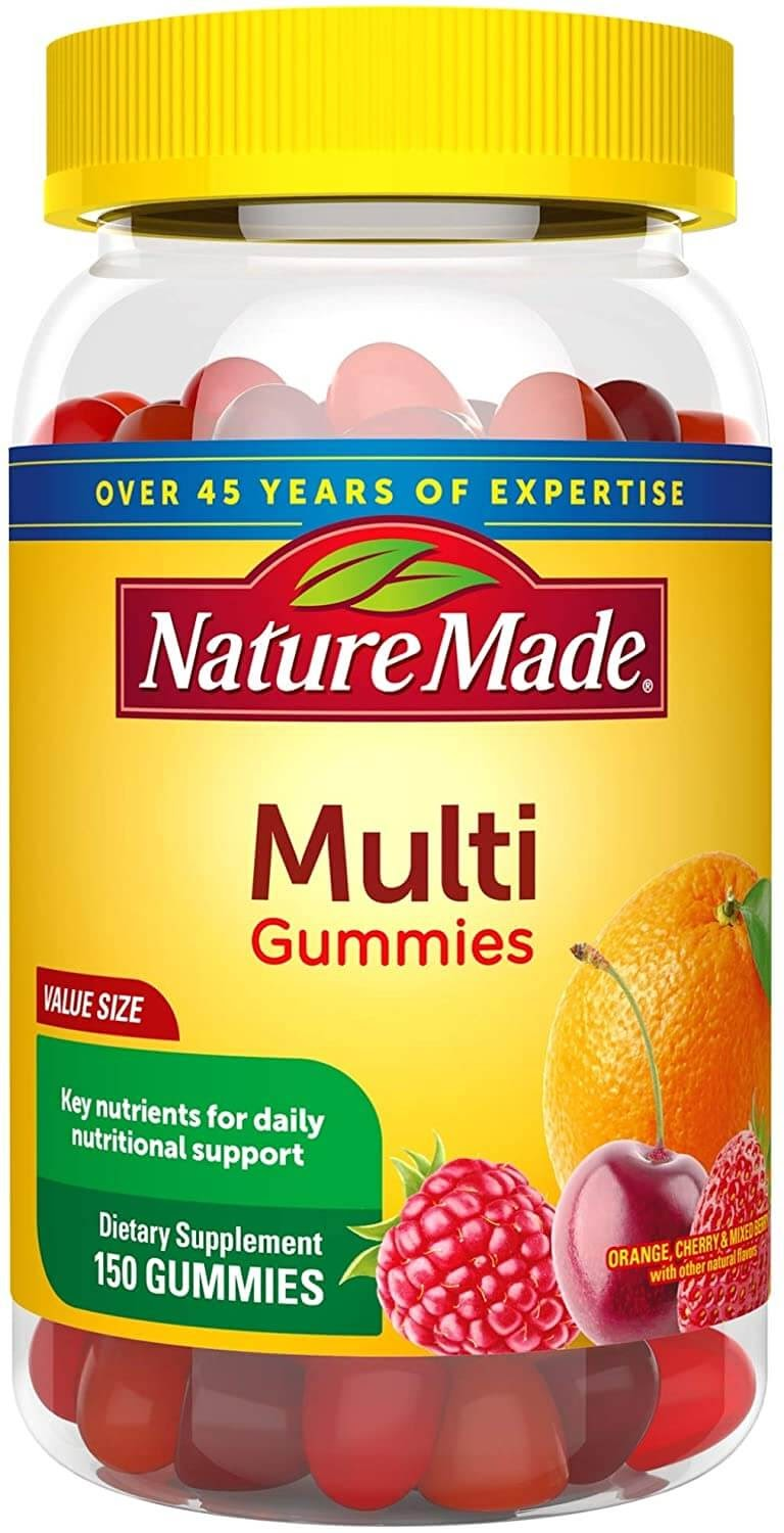 gummies vitamin nature multivitamin gummy