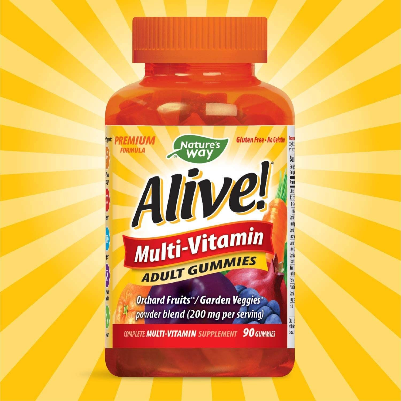 Nature's Way Alive!® Adult Premium Gummy Multivitamin