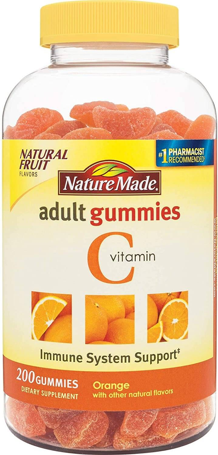 gummies vitamin adult nature gummy